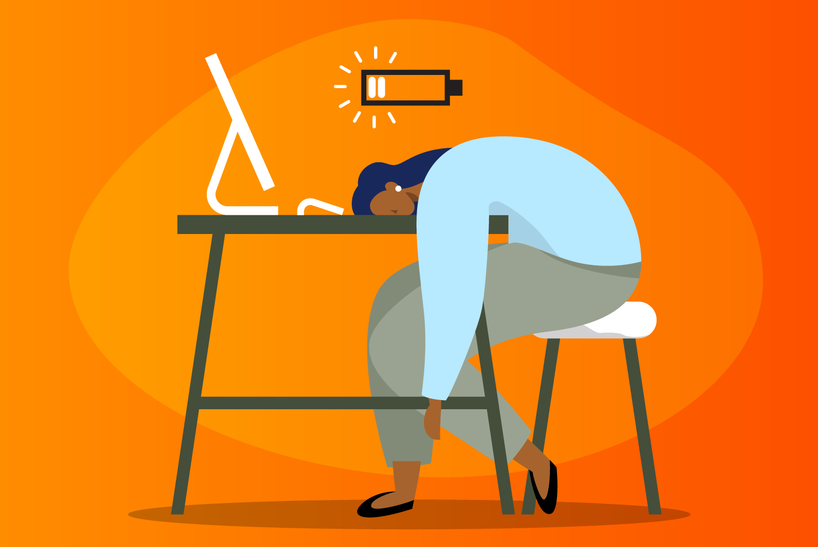 Managers at risk of burnout